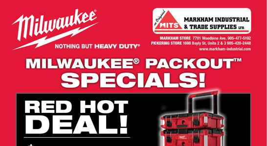 Milwaukee Packout Specials!