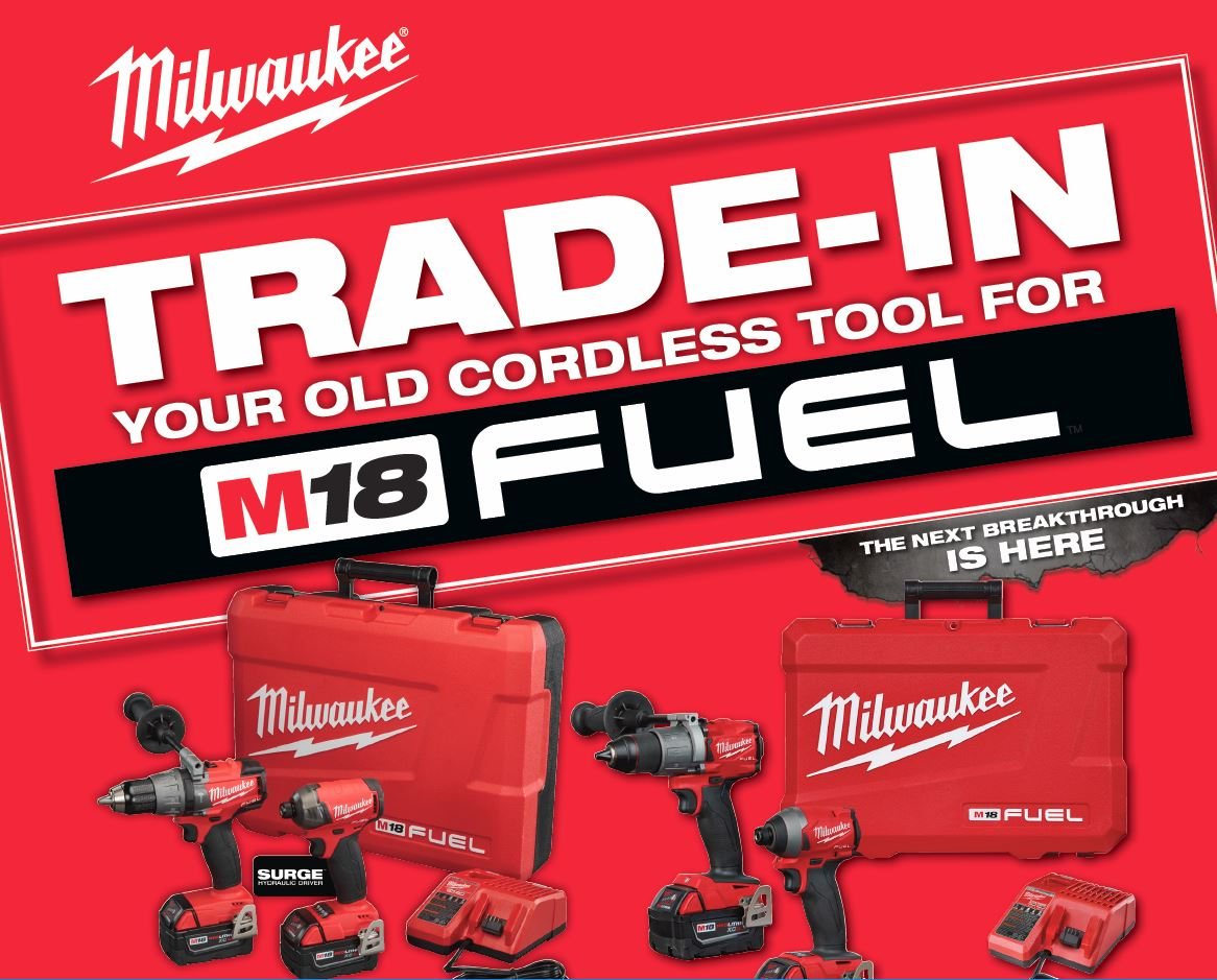 Milwaukee Trade-In